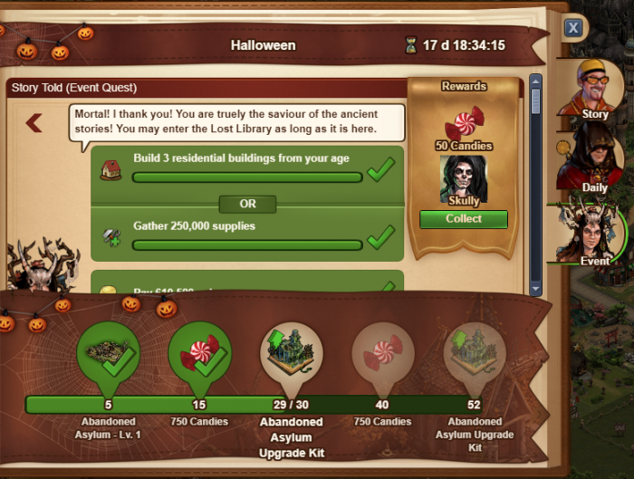 Forge Of Empires Halloween Event 2020 Questline Halloween Event   Forge of Empires   Wiki EN